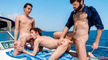 Poster Download FrenchTwinks - Sea Sex and Sun Episode 1 2018-06-27