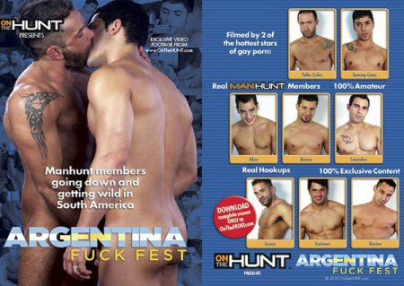 Poster Download Gay DVD - Argentina Fuck Fest