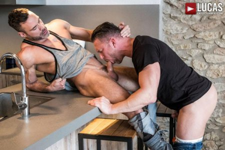 Poster Download LucasEntertainment - Tomas Brand And Manuel Skye Swallow Each Other's Uncut Cocks 2018-07-18