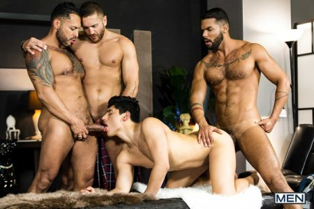 Poster Download Men - Telenovela Part 4 - Emir Boscatto, Ken Summers, Lucas Fox & Viktor Rom 2018-08-25